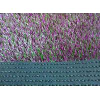 Wholesale UV Resistant Balcony Artificial Grass 35mm Violet For Garden Decoration from china suppliers