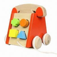Wholesale Pull Along Wooden Telephone, with Sound from china suppliers