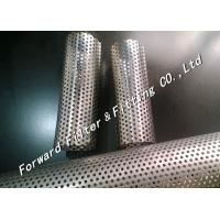 Wholesale Perforated Metal Tube / Perforated Stainless Steel Pipe Of Filter Element from china suppliers