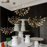 Wholesale Creative Art Designer Chandelier Lighting Tree Leaf Vintage LED  Lamp Fixtures By Bertjan Pot Suspension Lamp from china suppliers