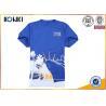 Buy cheap Cotton Short Sleeve Quick dry t shirt offset print running Custom T Shirt t shirt for marathon from wholesalers