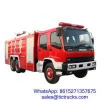 Wholesale ISUZU 12000L 280HP Fire Fighter Truck 6 x 4 for sale_ from china suppliers