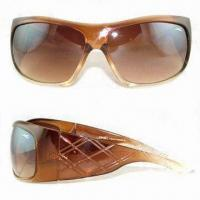 Wholesale Women's Sunglasses, Available in Different Colors from china suppliers