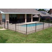 Quality Pre-Assembled Swimming Pool Fence ISO9001 SLD-001 manufacturer for sale
