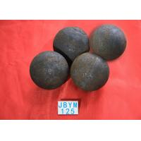 Wholesale Grinding Resisting Hot Rolling Steel Balls for Copper Mine / Gold Mine , Dia 125mm from china suppliers