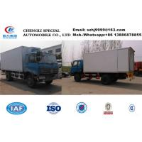 Wholesale HOT SALE!high quality and competitive price China dongfeng 4*2 RHD 10tons frozen van truck for frozen meat and seafood from china suppliers