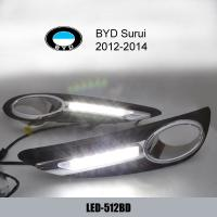 Wholesale BYD Surui DRL LED Daytime Running Lights kit Car parts aftermarket from china suppliers