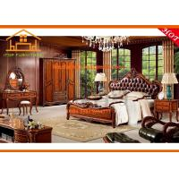 Wholesale Fancy antique luxury hand made wood carving bedroom furniture sets from china suppliers