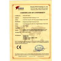 Wute Digital Technology Co,. Ltd Certifications