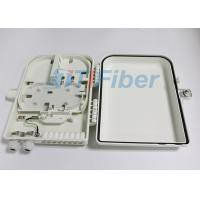 Wholesale 16 Core Fiber Termination Box , ABS Fiber Distribution Box For Ftth Network from china suppliers