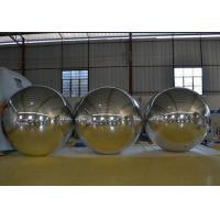 Wholesale Silver Inflatable Mirror Ball For  Event/ Balloons Advertising/Decoration/party from china suppliers
