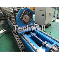 Wholesale 16 Stations Cold Roll Forming Machine With Rubber Belt Driven Servo Tracking Cutting Device from china suppliers