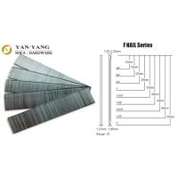 Wholesale F-nails series silver color sofa staples metal wire furniture staples from china suppliers