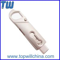Wholesale Full Metal Twister Usb 3.1 Type C Flash Drive with Buckle easy to carry from china suppliers