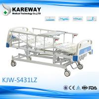 Wholesale Hospital Care Medline Hospital Bed 4 Functions Manual Cranks With Bedside Cabinet Optional from china suppliers