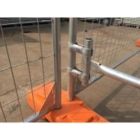 Wholesale 2100mm*2400mm full hot dipped galvanized temporary fencing for NZ market from china suppliers