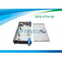 Wholesale FTTH Mini Fiber Optic Terminal Box 3 SC / FC / ST Adapor 6 LC Pigtails from china suppliers