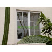 Wholesale UPVC Sliding Window With Grilled For ResidentialHome,White Color Vinyl Sliding windows from china suppliers