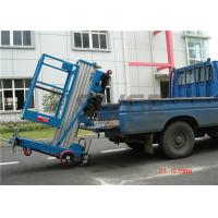 Wholesale 7.6 Meter Platform Height Truck Mounted Aerial Platforms Vertical For Factories from china suppliers