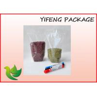Wholesale Laminated Plastic Custom Packaging Bags Snacks Nut Zipper Transparent Pouch from china suppliers
