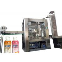 Buy cheap Vial Liquid Beverage Filling Machine , Fully Automatic Plastic Bottle Filling And Sealing Machine from wholesalers