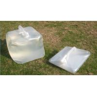 Wholesale Hot sell good quality and low price LDPE collapsible jerry can for carrying water, oil, po from china suppliers