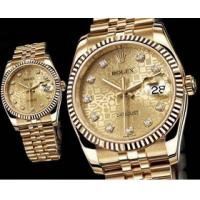 Wholesale gold rolex oyster perpetual datejust from china suppliers