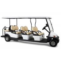 Wholesale Rear Drum Brake 6 Passenger Electric Golf Cart With Foldable Windshield from china suppliers
