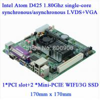 Wholesale Mini Itx industrial motherboard Intel 1037U Dual Core 22nm / 6COM/ Dual 24 bits LVDS from china suppliers