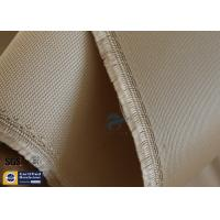 Wholesale High Temp Silica Fabric Brown 35OZ 92CM 800℃ Durable Electrical Insulation from china suppliers