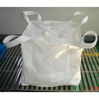 Wholesale polypropylene woven sack white Super sack bags Tubular big bag with perimeter band from china suppliers