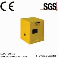 Wholesale Bench Top  Yellow Paint  /  Flammable Storage Cabinets with Fire Proof from china suppliers