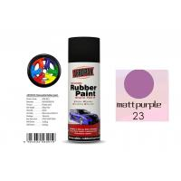 Wholesale High Efficiency Rubber Coat Spray Paint Matt Purple Color For Wood from china suppliers