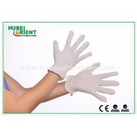 Wholesale Eco Friendly 100% Soft Pure Cotton Disposable Gloves PVC dots White Colour from china suppliers