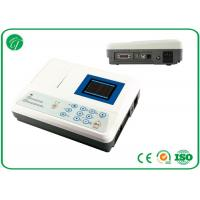 Wholesale 3 channel Portable ECG Machine , ecg monitoring device rechargeable lithium battery from china suppliers