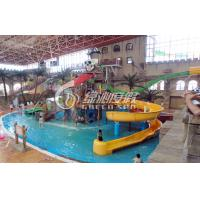 Wholesale Commercial Outdoor Water Park Construction Fiberglass Children Aqua Park Equipment from china suppliers