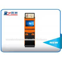 Wholesale Self Service Bill Payment Ticket Vending Kiosk With Card Dispenser Dual Screen from china suppliers