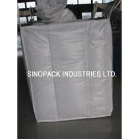 Wholesale 2200 Lbs Baffle Bag Industrial Big Bags FIBC Bulk Bag For Cement / Chemical Packaging from china suppliers