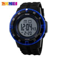 Wholesale Digital Mens Sport Watch 5 ATM Waterproof With Durable PU Plastic Japanese Battery from china suppliers