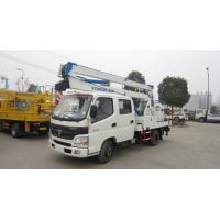 Wholesale FOTON AUMARK 4*2 12M-16M aerial bucket truck for traffic lights for sale, FOTON 14m aerial working platform truck from china suppliers