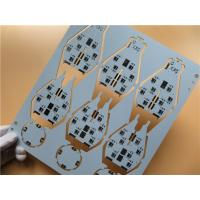 Wholesale White PCB 2 Layers Built On FR-4 1.6mm thick With Edge Plated in Combined Panel from china suppliers