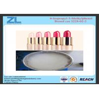 Wholesale Cosmetic lipstick raw materials 4-Isopropyl-3-Methylphenol powder Cas 3228-02-2 from china suppliers