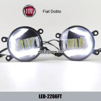 Wholesale Fiat Doblo car front fog light DRL LED daytime driving lights upgrade from china suppliers