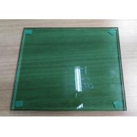Green Laminated Float Glass , One Way Reflective Glass Easy Maintenance