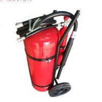 Buy cheap 30 KG DCP Fire Extinguisher , Powder Coating Red Fire Extinguisher Trolley Units from wholesalers