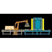 Buy cheap PLC Controlled Fully Automated Robotic Palletizing System With Single Gripper / Double Gripper from wholesalers