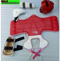 Buy cheap pu leather Fashion boxing training Taekwondo Chestguard Protect Gear from wholesalers