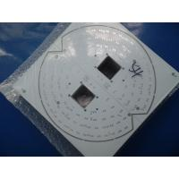 Quality White Solder Mask Single PCB Fabrication FR4 , LED Light Circuit Board for sale