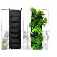 Wholesale Wholesale fabric grow bag wall hanging felt planting bag for plants from china suppliers