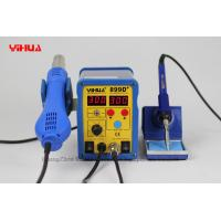 Wholesale Temperature Control Digital Soldering Station YIHUA 899D+ 2 IN 1 Mobile Phone Repair Tool from china suppliers